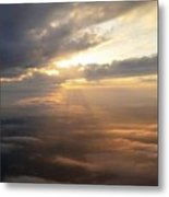 Beauty Above The Clouds Metal Print