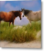 Beauty And Friendship Metal Print