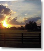 Beauty At Sunset Metal Print