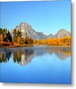 Beauty At The Bend Metal Print