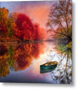Beauty At The Lake Metal Print