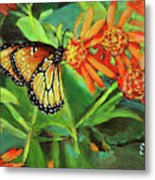 Beauty Attracts Metal Print