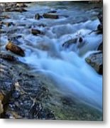 Beauty Creek Metal Print by Larry Ricker