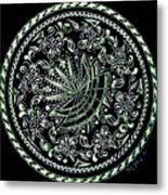 Beauty In Confusion Metal Print