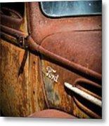 Beauty In Rust Metal Print