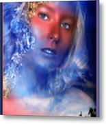 Beauty In The Clouds Metal Print