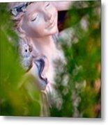 Beauty In The Ferns Metal Print