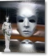 Beauty Is Invisible To The Eye. Metal Print