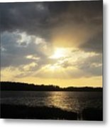 Beauty Of Sunset Metal Print