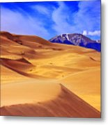 Beauty Of The Dunes Metal Print