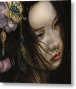 Beauty Of The Orient Metal Print