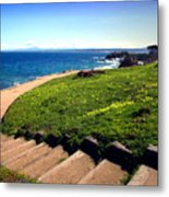 Beauty Of The Pacific Grove Shoreline Two Metal Print