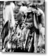 Pow Wow Beauty Of The Past Metal Print
