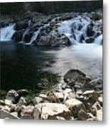 Beauty Of The Washougal River Metal Print