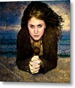 Beauty On The Beach Metal Print