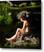 Beauty On The Rocks Metal Print