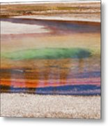 Beauty Pool Metal Print
