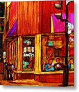 Beautys Luncheonette  Metal Print