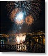 Beaver County Fireworks 2 Metal Print