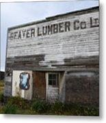 Beaver Lumber Company Ltd Robsart Metal Print