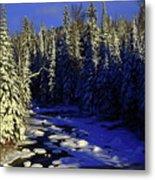 Beaver River Metal Print