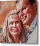 Becky And Chris Metal Print