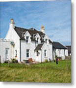 Iona Bed And Breakfast Two Metal Print