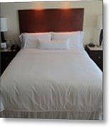 Bed Metal Print