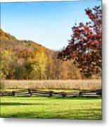 Bedford, Pa Fall Landscape Metal Print