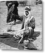 Bedouin Falconer, C1910 Metal Print