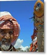 Bedouin Metal Print by George Paris