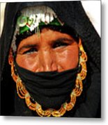 Bedouin Women Metal Print by Chaza Abou El Khair