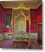 Bedroom At Holkham Hall Metal Print