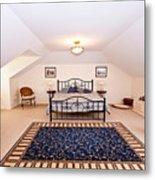 Bedroom With Sloping Ceiling Metal Print