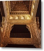 Beds Room The Alhambra Metal Print
