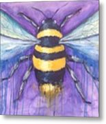 Bee For A Little Bee Metal Print