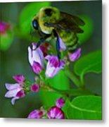 Bee Good 2 Metal Print
