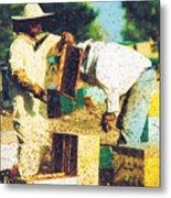 Bee Keepers Metal Print
