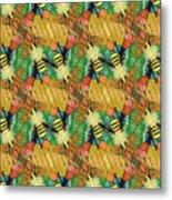 Bee Kind  Morph#2 Metal Print