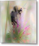 Bee2 Metal Print