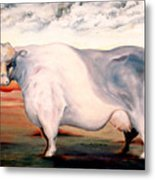 Beef Holocaust II Metal Print
