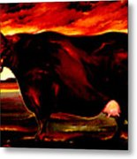 Beef Holocaust IIi Metal Print