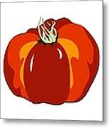 Beefsteak Tomato Metal Print