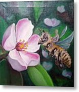 Beekeeper Metal Print