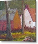 Beekeeper's Cottage Metal Print