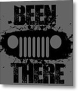 Been There In A Jeep Metal Print