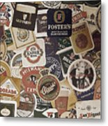 Beers Of The World Metal Print