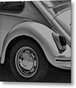 Beetle Art Metal Print