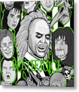 Beetlejuice Tribute Metal Print