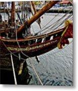 Before Setting Sail Metal Print by Douglas Barnard